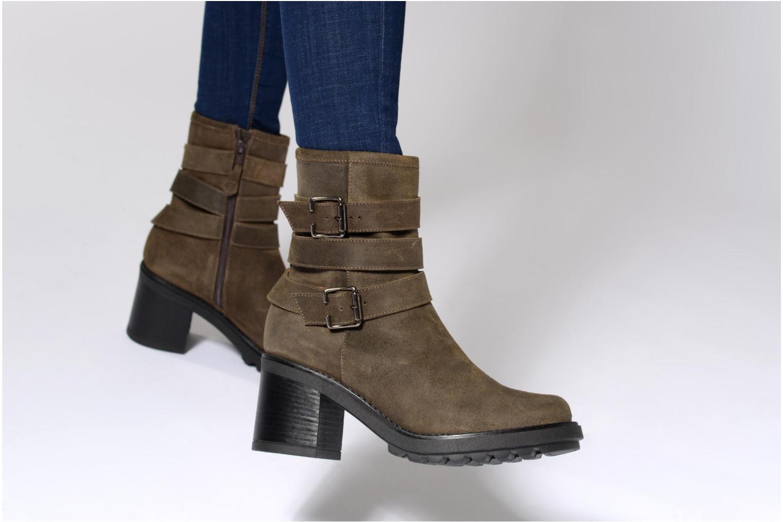 Bottines et boots Elizabeth Stuart ROTZ 316 Vert vue bas / vue portée sac
