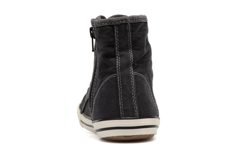 Baskets Mustang shoes Mejob 1099502 Noir vue droite