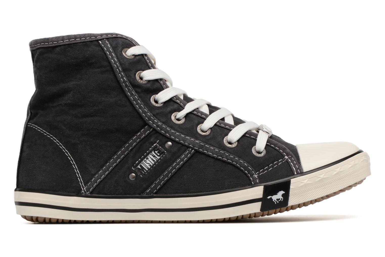 Baskets Mustang shoes Mejob 1099502 Noir vue derrière