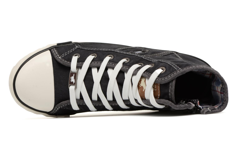 Baskets Mustang shoes Mejob 1099502 Noir vue gauche