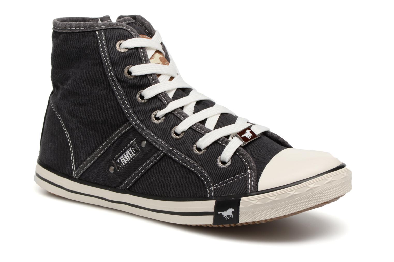 Baskets Mustang shoes Mejob 1099502 Noir vue détail/paire