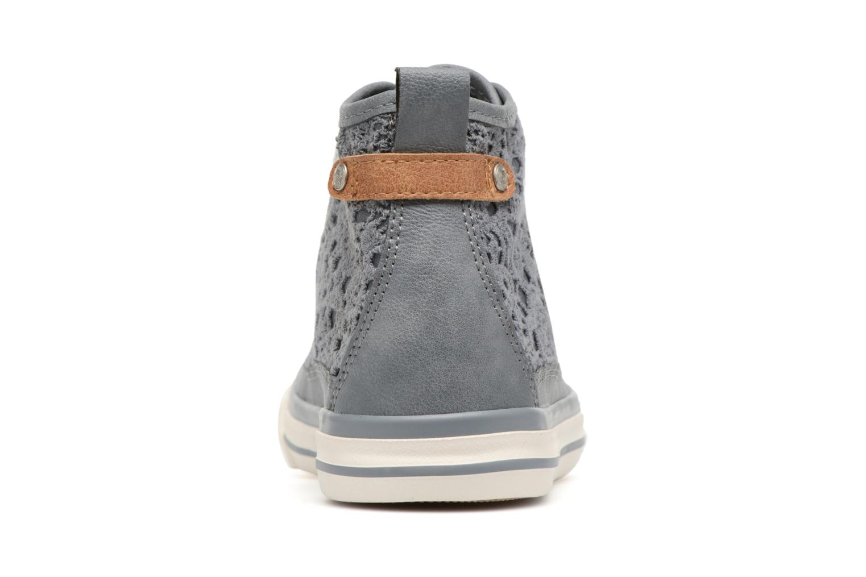 Baskets Mustang shoes Nola 1146507 Bleu vue droite