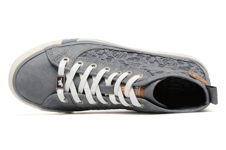 Baskets Mustang shoes Nola 1146507 Bleu vue gauche