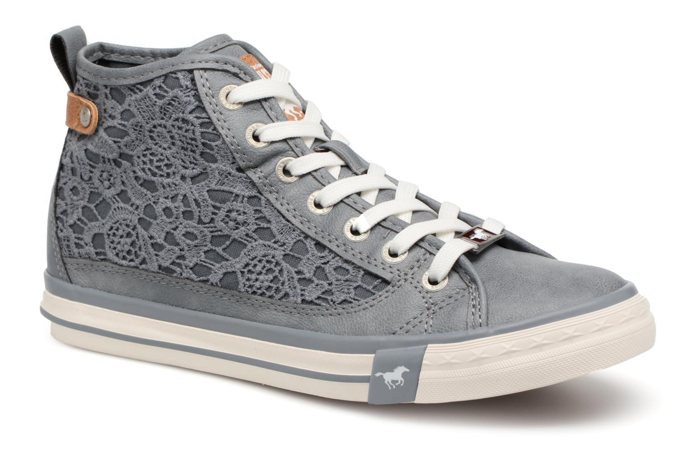 Baskets Mustang shoes Nola 1146507 Bleu vue détail/paire