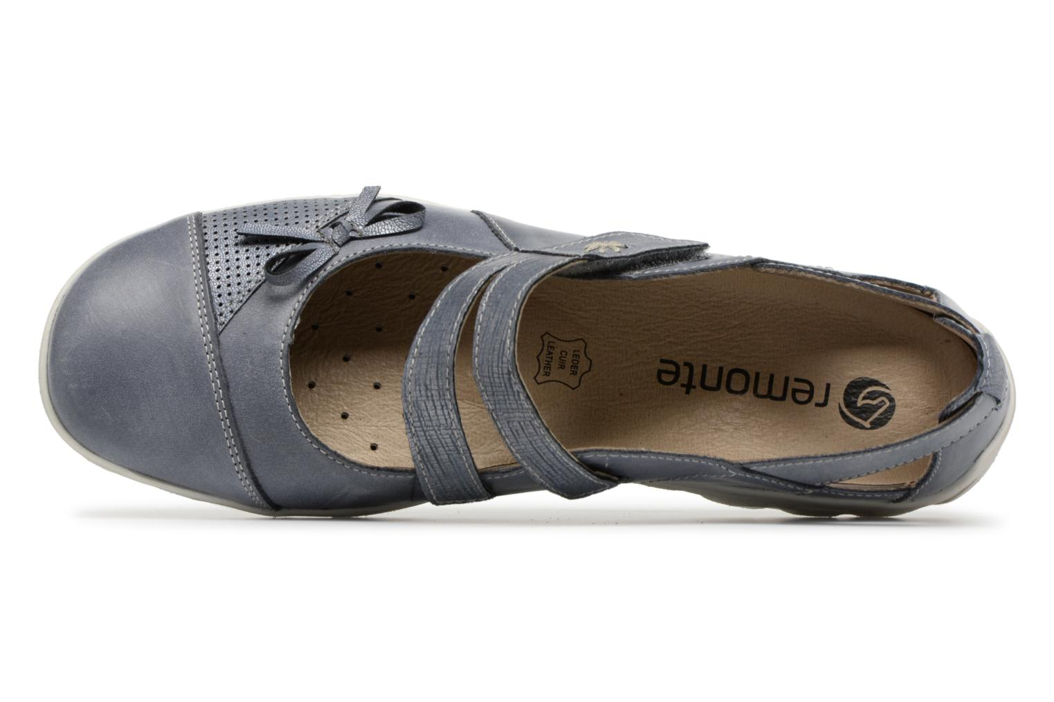 Ballet pumps Remonte Rae R3428 Blue view from the left