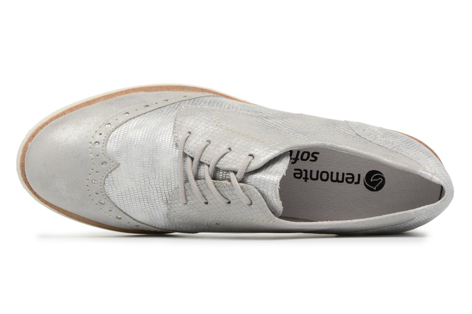Lace-up shoes Remonte Nearra R1912 Grey view from the left