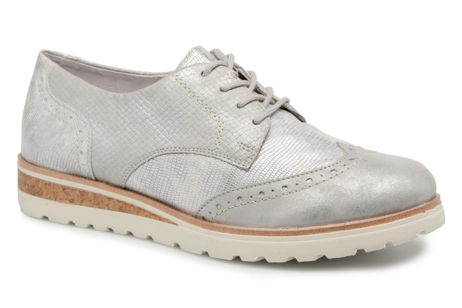 Lace-up shoes Remonte Nearra R1912 Grey detailed view/ Pair view