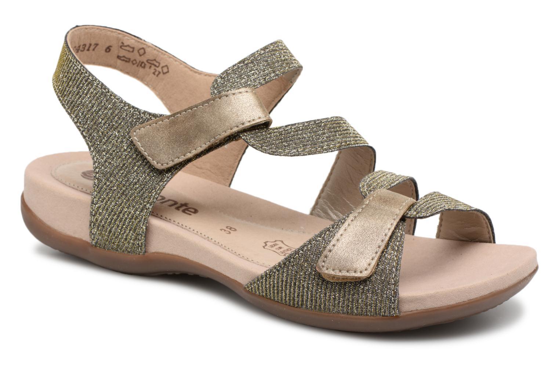 Zapatos promocionales Remonte Palmer R3259 (Oro y bronce) - Sandalias   Zapatos casuales salvajes