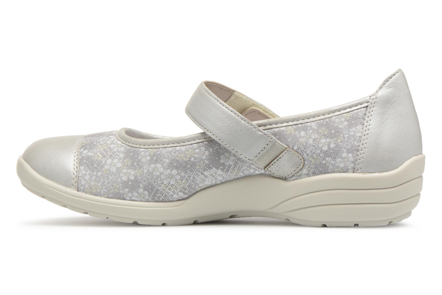 Ballet pumps Remonte Danya R7627 Grey front view