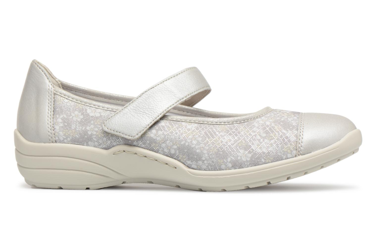 Ballet pumps Remonte Danya R7627 Grey back view