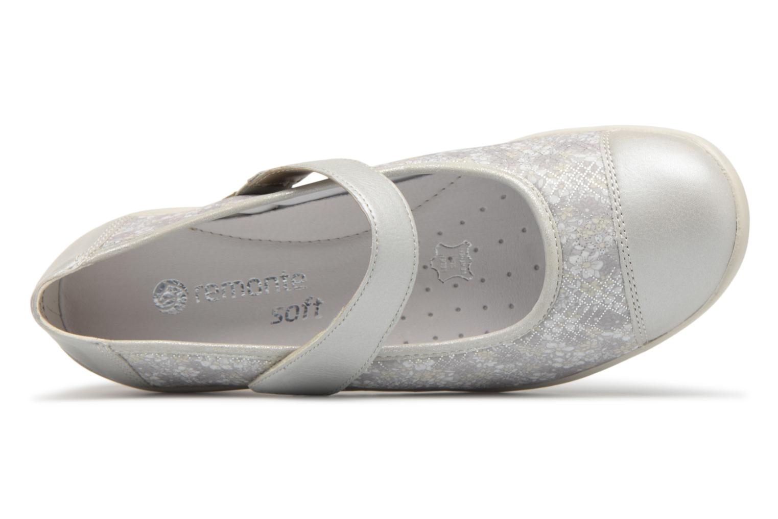 Ballet pumps Remonte Danya R7627 Grey view from the left