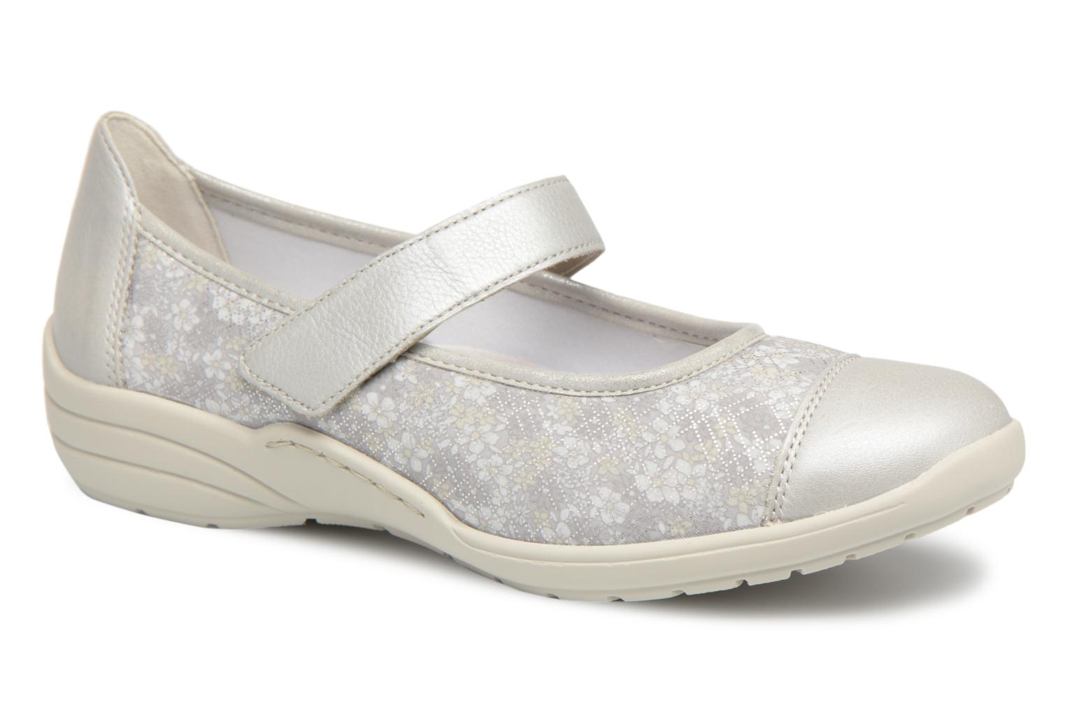 Ballet pumps Remonte Danya R7627 Grey detailed view/ Pair view