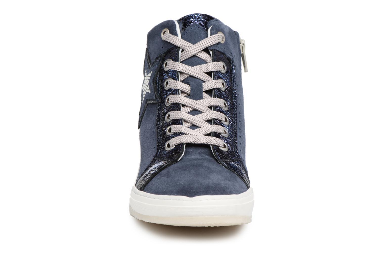 Baskets Khrio Bazimu / saio prussia Bleu vue portées chaussures