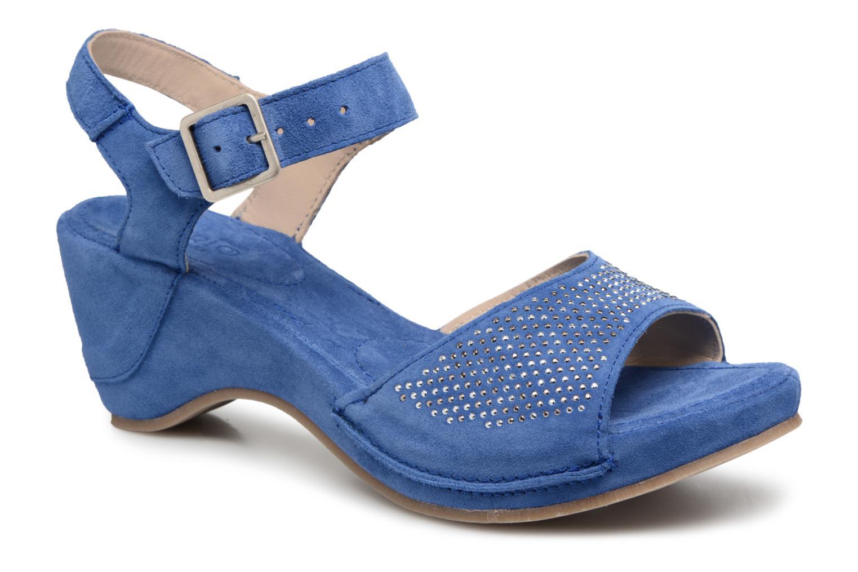 Khrio Sigaco saio denim (Bleu) - Sandales et nu-pieds chez Sarenza (322961)