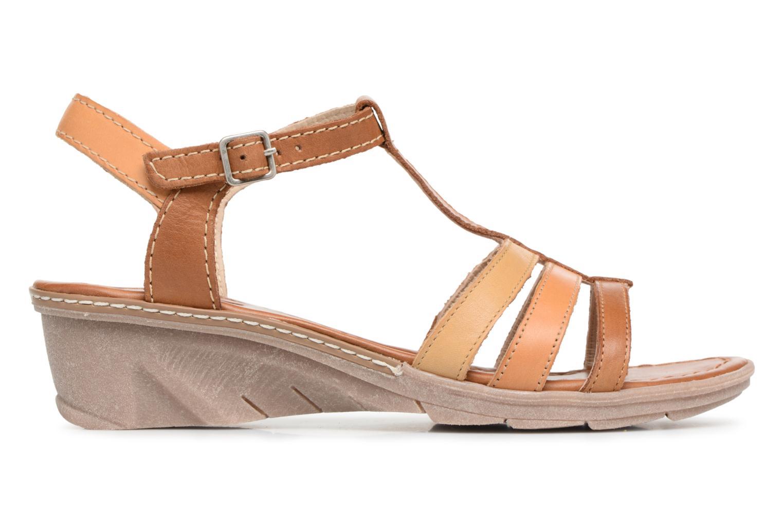 Sandales et nu-pieds Khrio Logaki mohair cuio Marron vue derrière