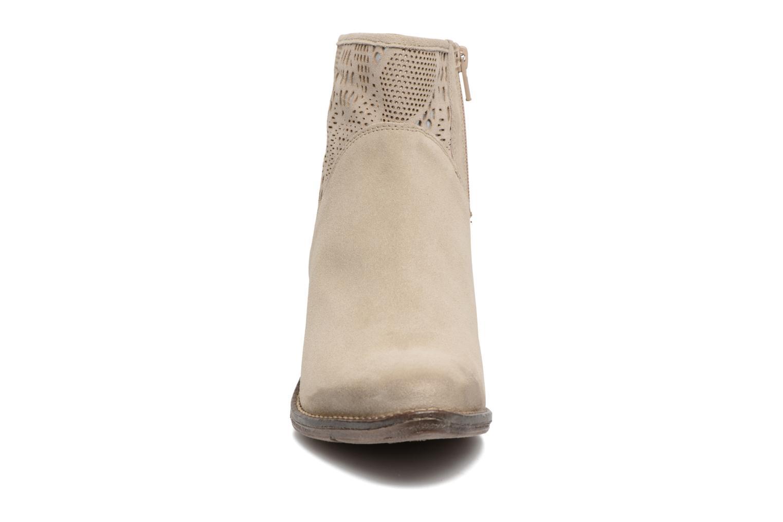 Bottines et boots Khrio Caloda / saio sand Beige vue portées chaussures