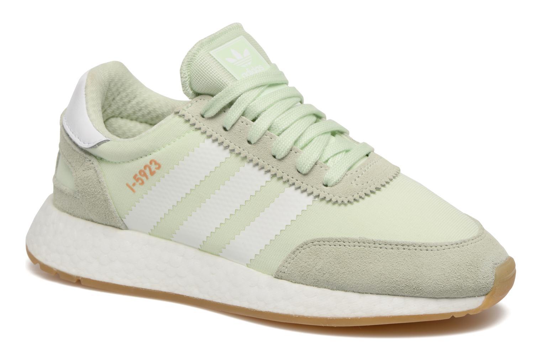 Baskets Adidas Originals I-5923 W Vert vue détail/paire