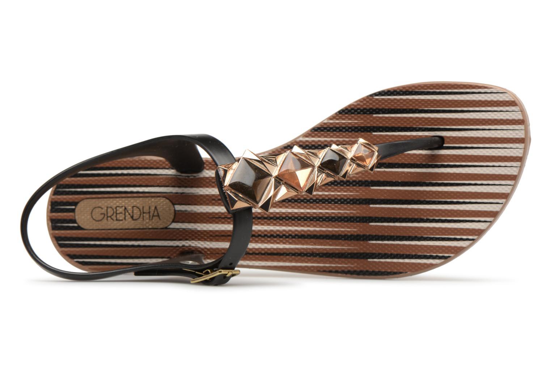 Sandal Grendha black II Brown Jewel qq7EwB