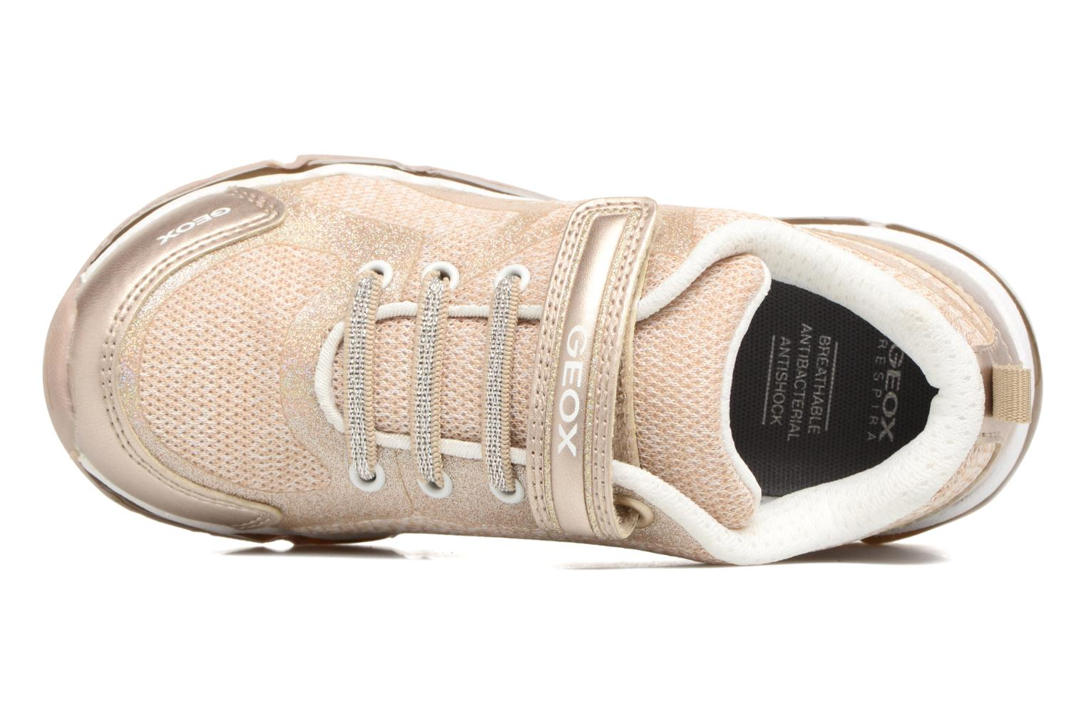 Sneakers Geox J Android G. B J8245B Rosa immagine sinistra