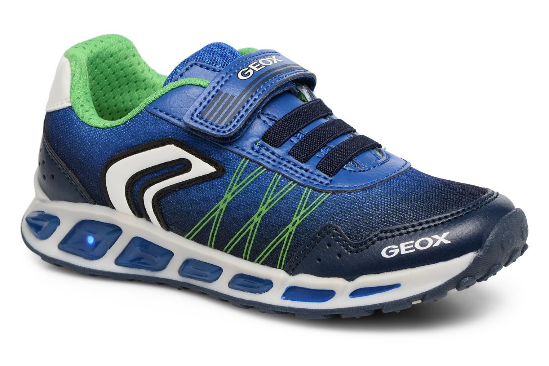 Sneakers Geox J Shuttle B. B J8294B Azzurro vedi dettaglio/paio