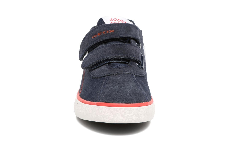 Baskets Geox J Kilwi B. I J82A7I Bleu vue portées chaussures