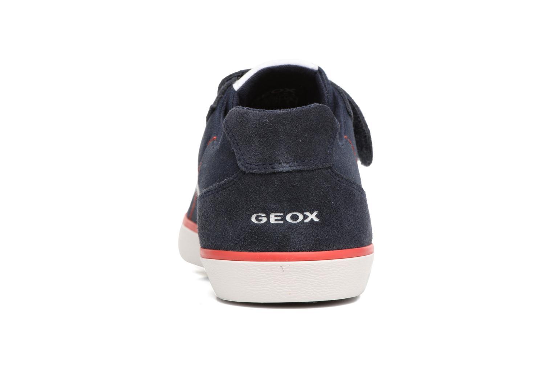 Baskets Geox J Kilwi B. I J82A7I Bleu vue droite