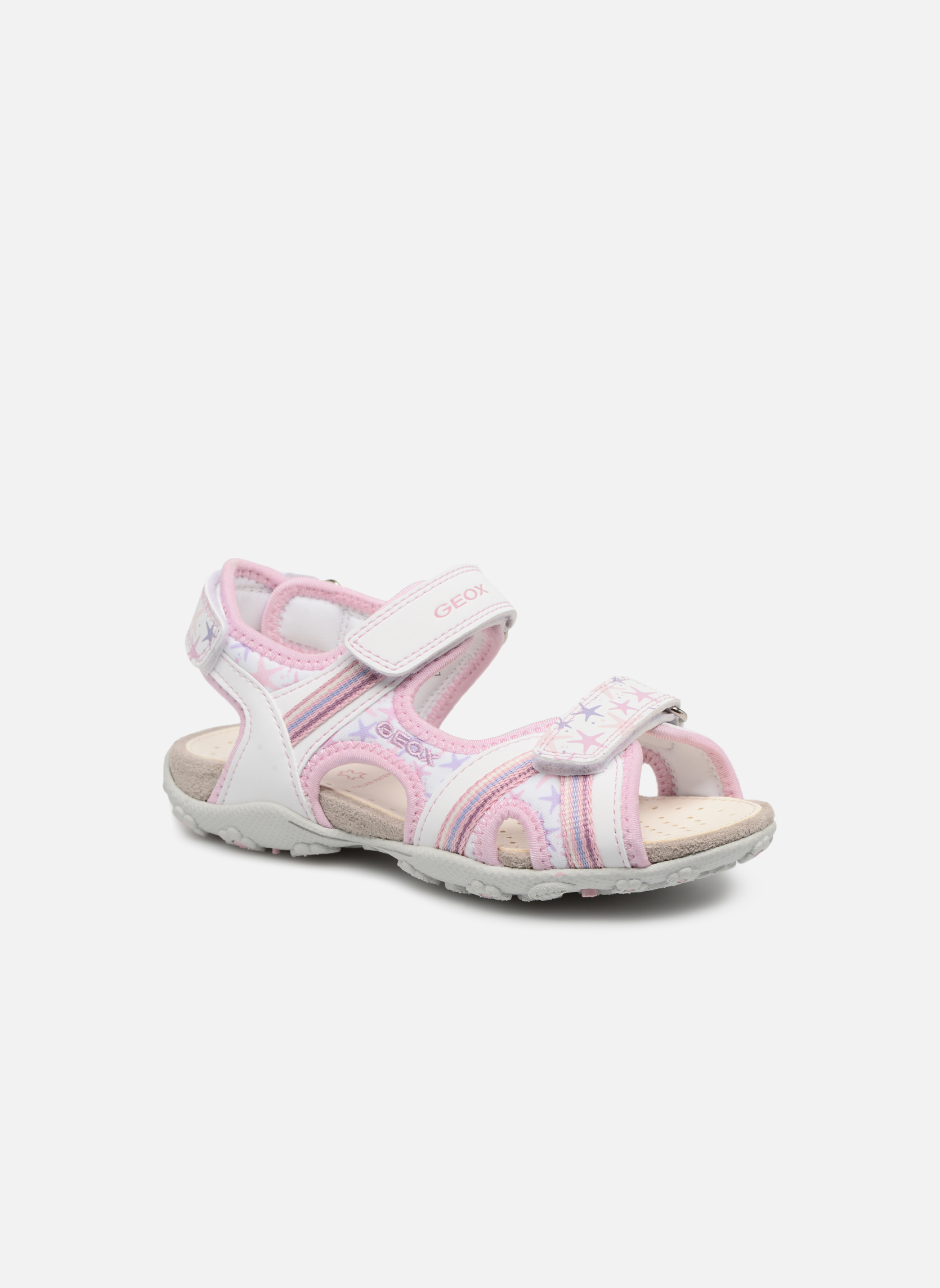 Sandals Geox J S.Roxanne A J52D9A Pink detailed view/ Pair view
