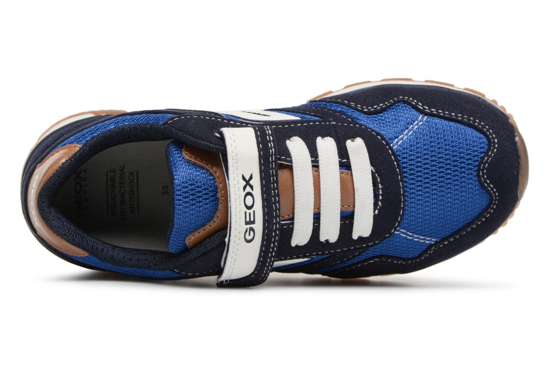 Bleu Marine/Bleu Ryl Geox J Pavel B J7215B (Bleu)