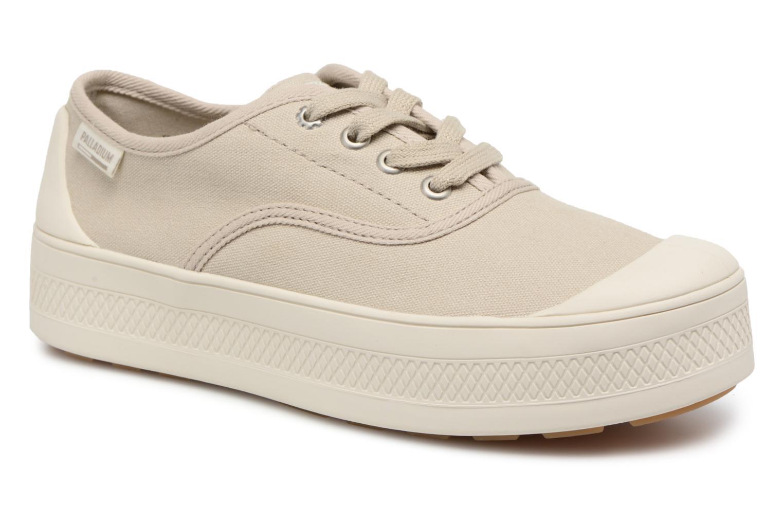 cheaper 5d08f 0f3aa Grandes descuentos últimos zapatos Palladium Sub Low CVS W (Beige) -  Deportivas Descuento