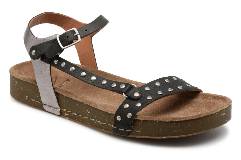 Grandes descuentos últimos zapatos P-L-D-M By Palladium Wooki Nat (Negro) - Sandalias Descuento