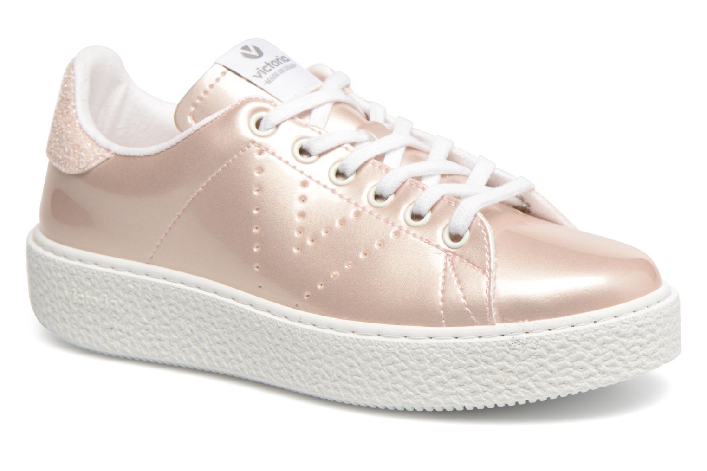 Zapatos promocionales Victoria Deportivo Charol 2 (Rosa) - Deportivas   Gran descuento