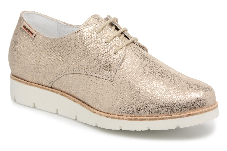 Zapatos promocionales Mephisto Aurelie (Oro y bronce) - Zapatos con cordones   Gran descuento