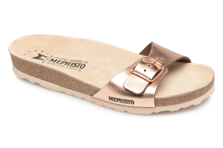 Grandes descuentos últimos zapatos Mephisto Nanouchka (Oro y bronce) - Zuecos Descuento