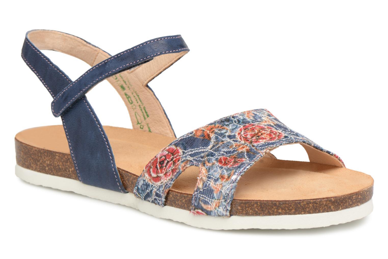 Grandes descuentos últimos zapatos Think! Shik 82594 (Azul) - Sandalias Descuento