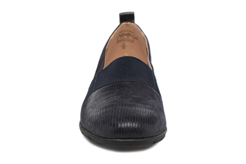 Mocassins Caprice Manoa Bleu vue portées chaussures
