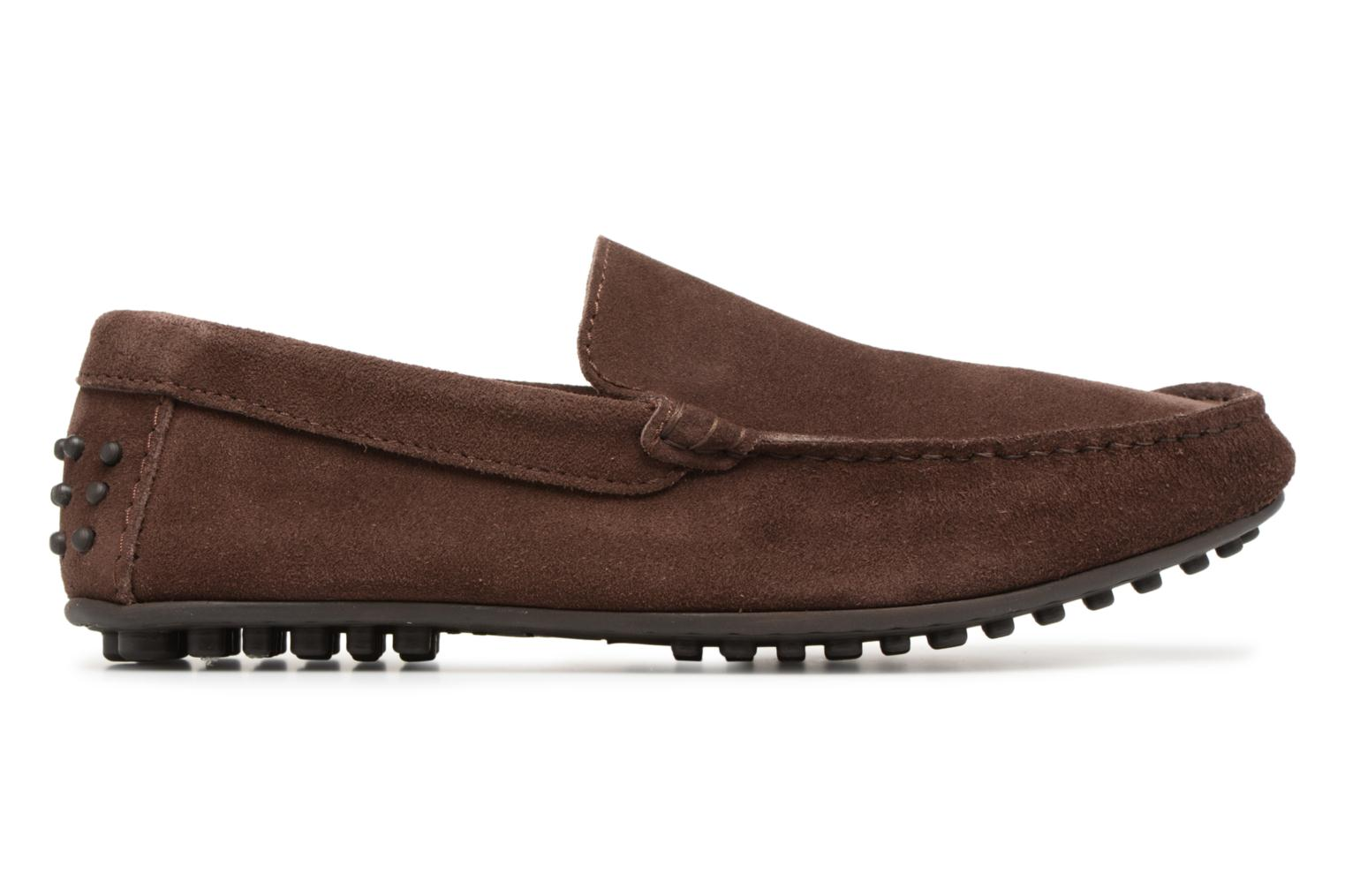 Mocassins Marvin&Co Suttino Bruin achterkant