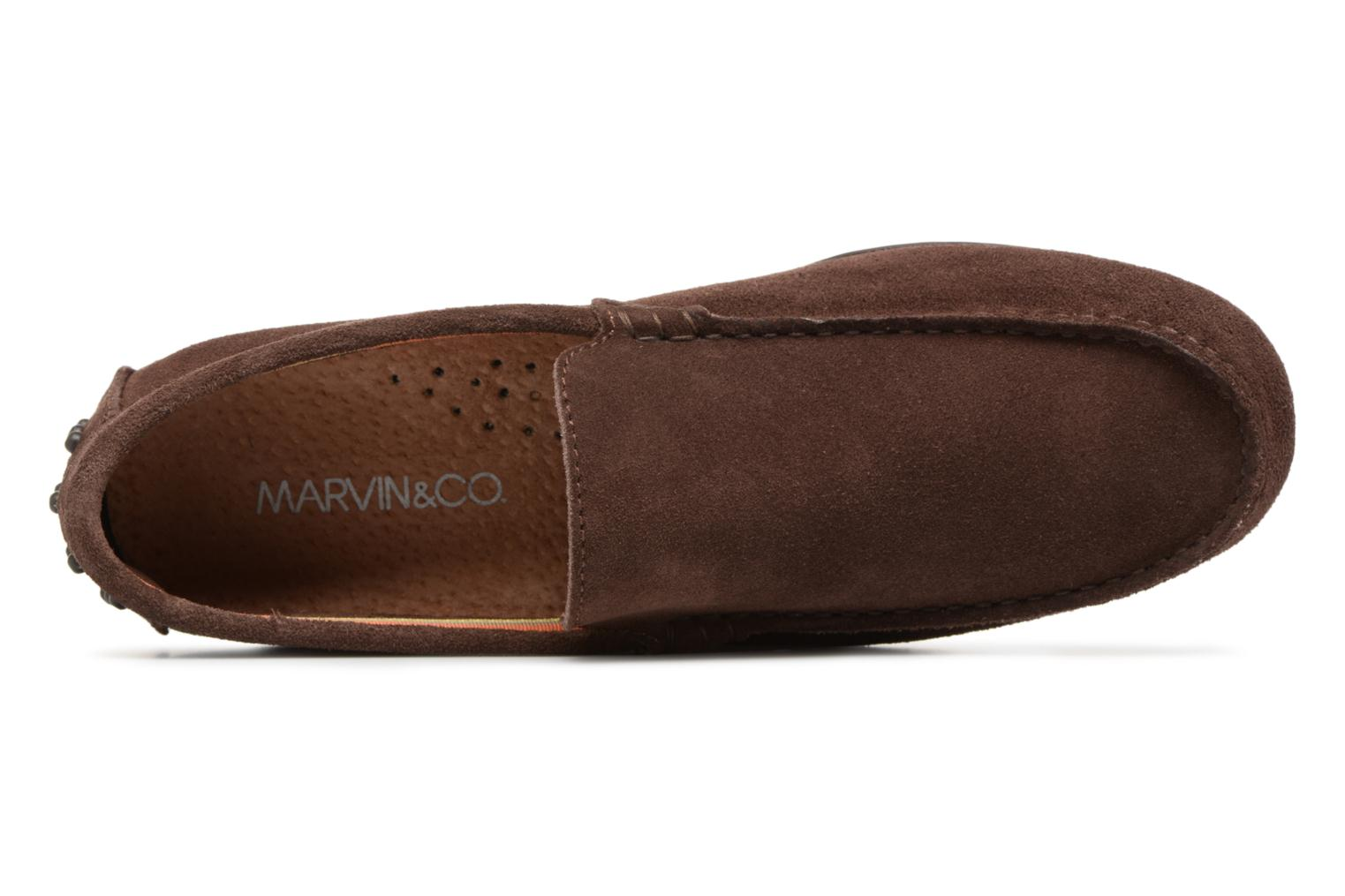 Mocassins Marvin&Co Suttino Bruin links