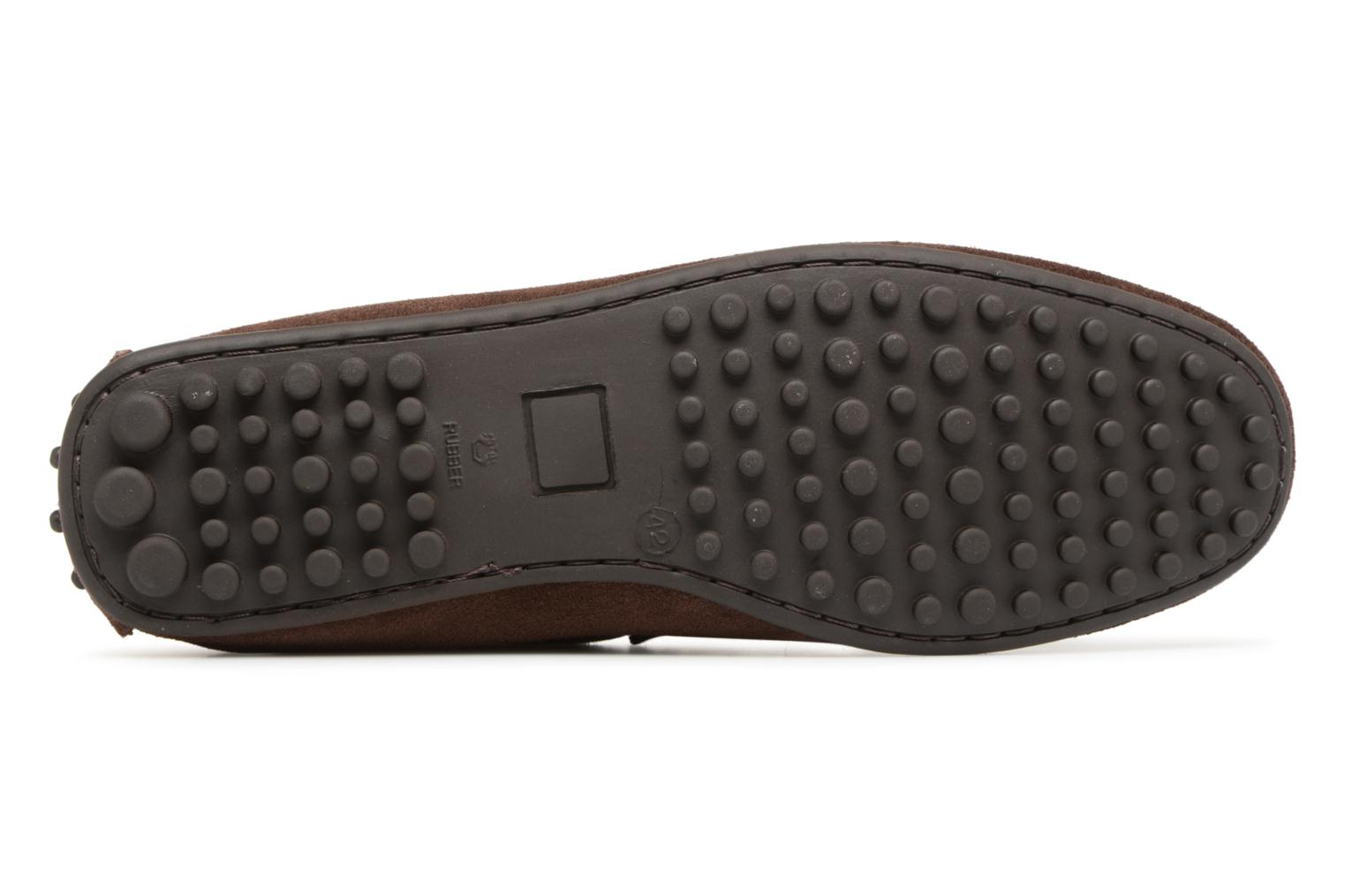 Loafers Marvin&co Suttino Brown view from above