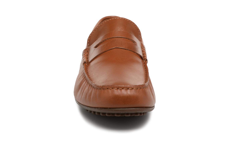 Mocassins Marvin&Co Slowlife Marron vue portées chaussures