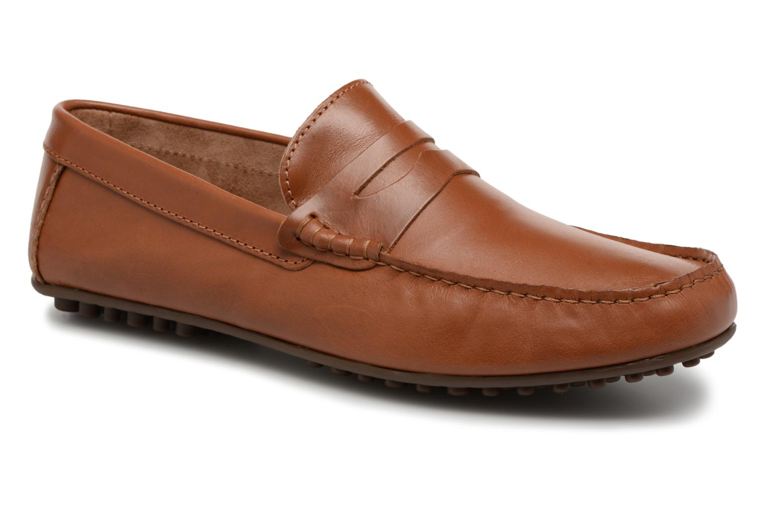 Loafers Marvin&co Slowlife Brown detailed view/ Pair view