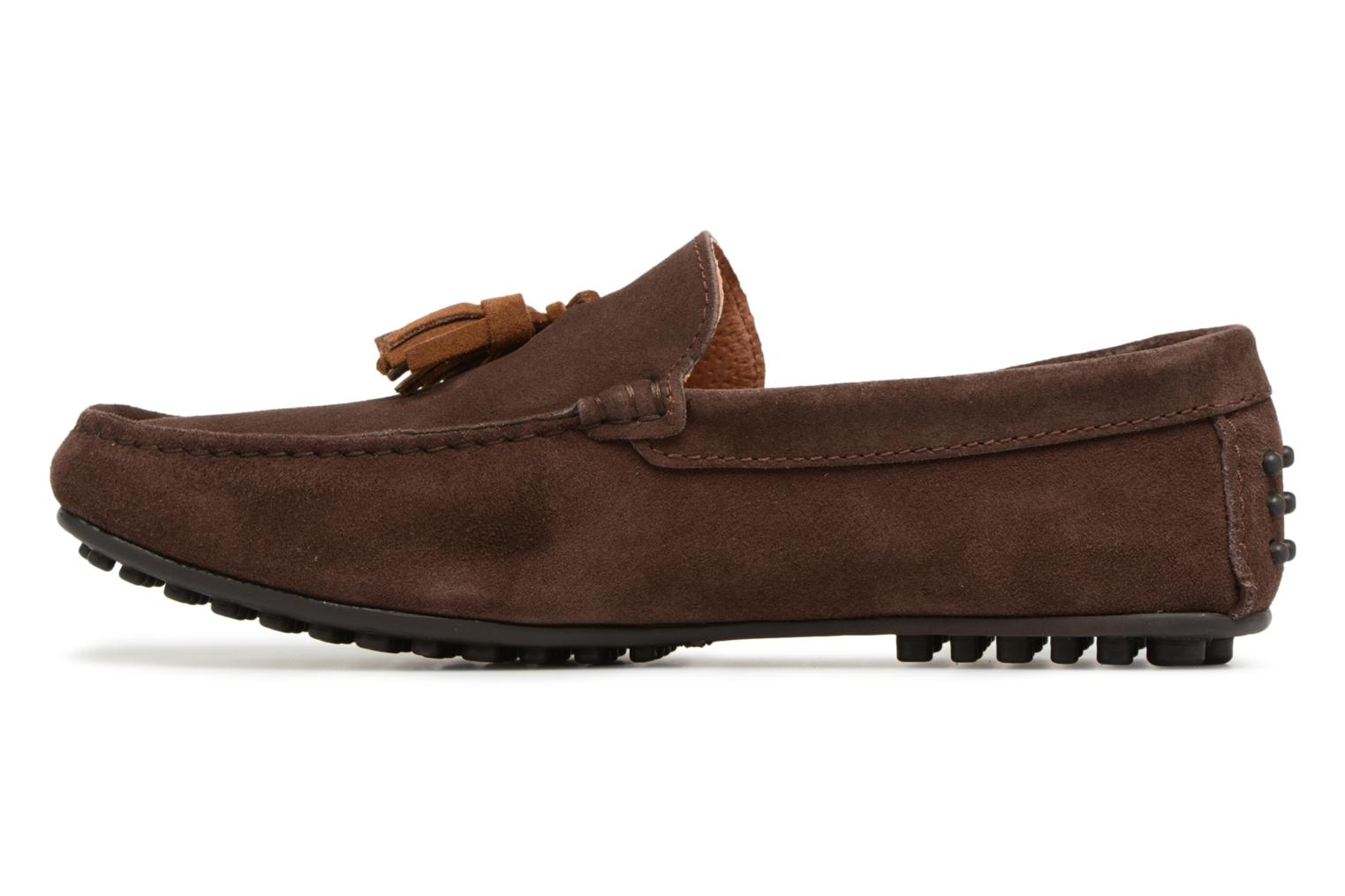 Loafers Marvin&co Saddington Brown front view