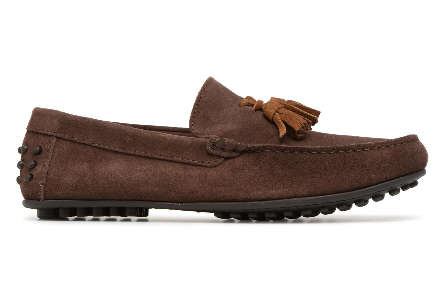 Loafers Marvin&co Saddington Brown back view