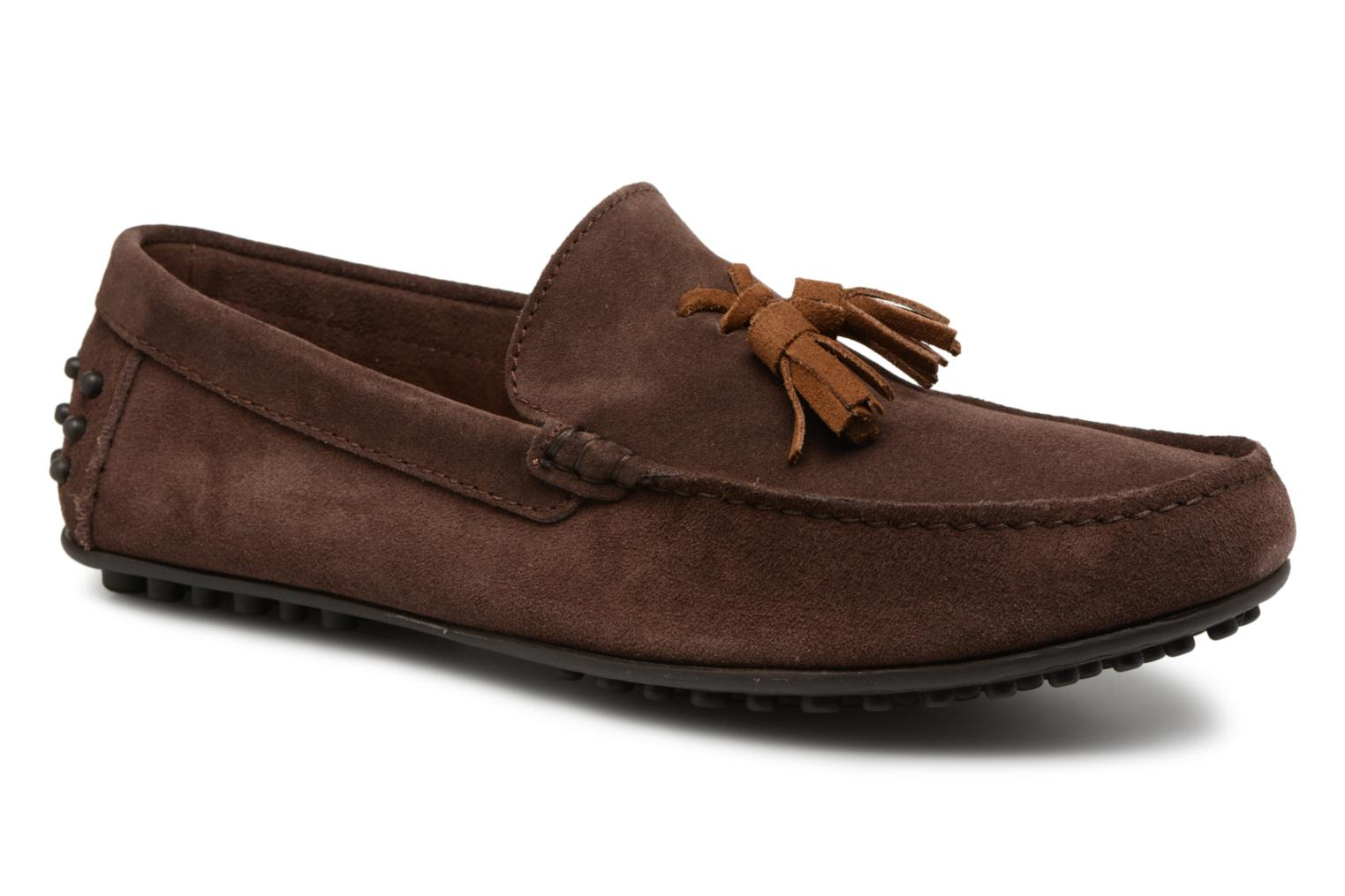 Loafers Marvin&co Saddington Brown detailed view/ Pair view