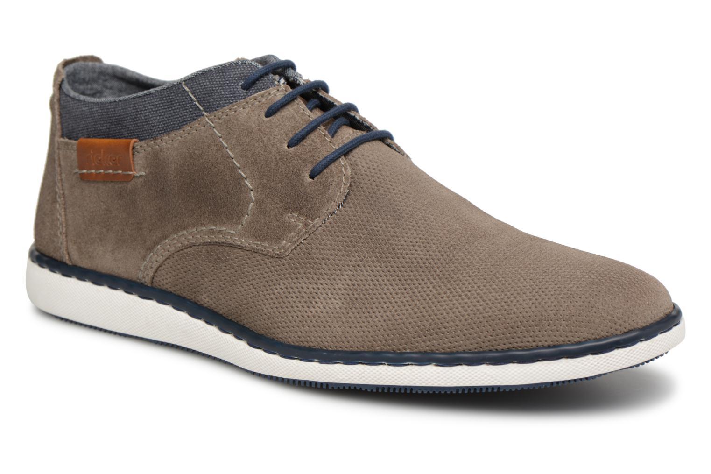 Tad 17801 - Chaussures Lacer Pour Les Hommes / Rieker Gris FN222x2
