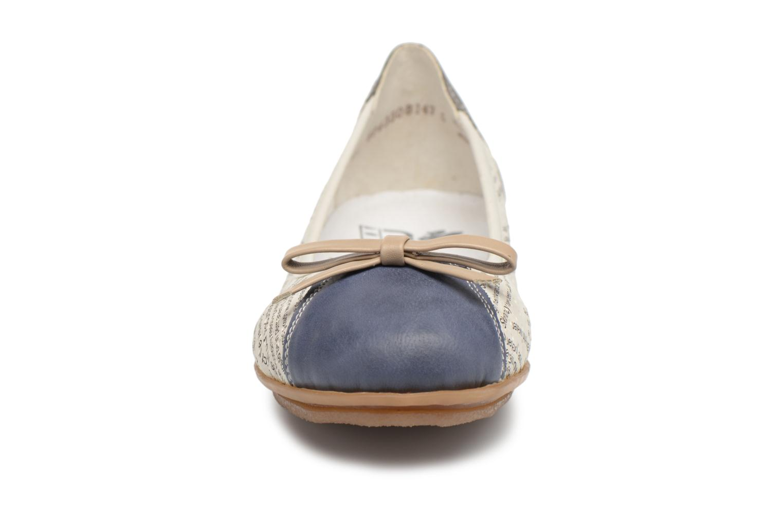 Ballerines Rieker Wilma 43950 Multicolore vue portées chaussures