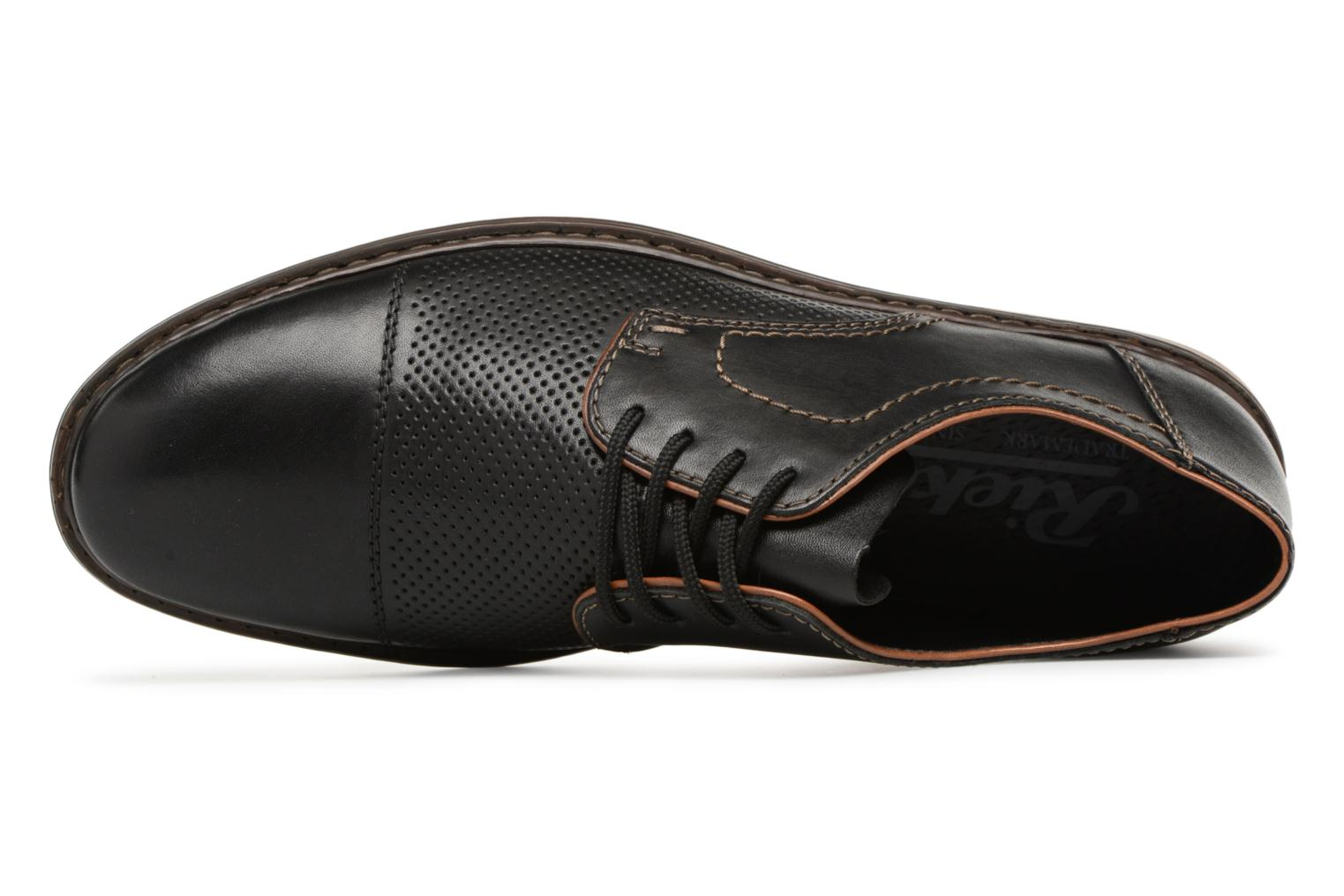 Lace-up shoes Rieker Urban 134B7 Black view from the left