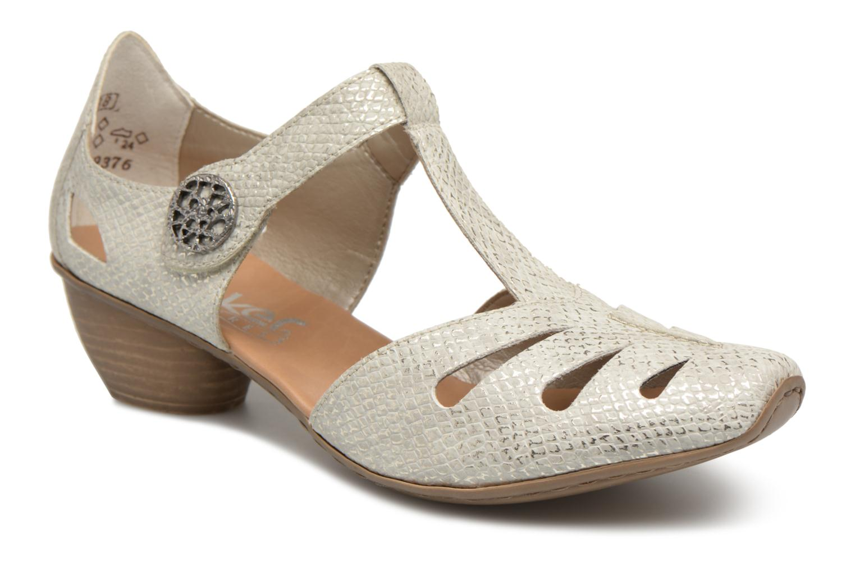 Zapatos promocionales Rieker Tiana 43750 (Gris) - Zapatos de tacón   Cómodo y bien parecido
