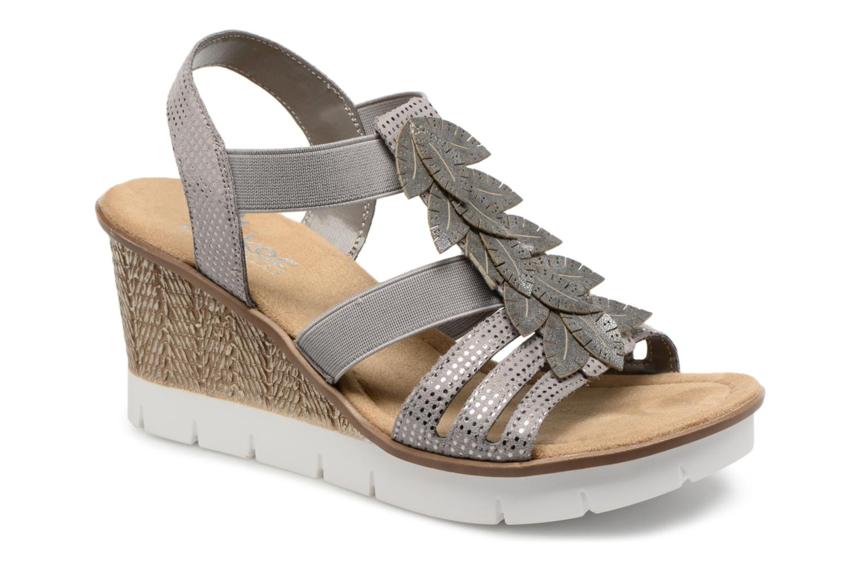 Zapatos promocionales Rieker Leah 65505 (Gris) - Sandalias   Casual salvaje