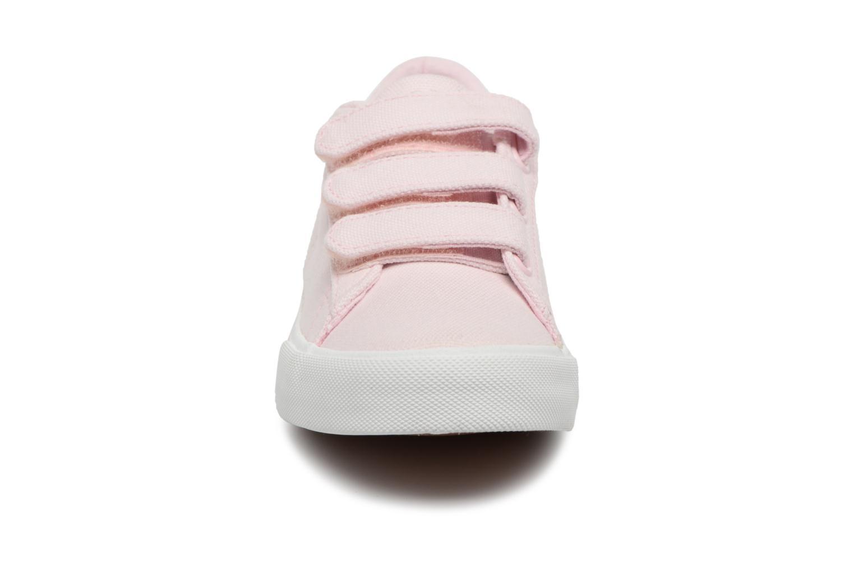 Baskets Polo Ralph Lauren Easten EZ Rose vue portées chaussures