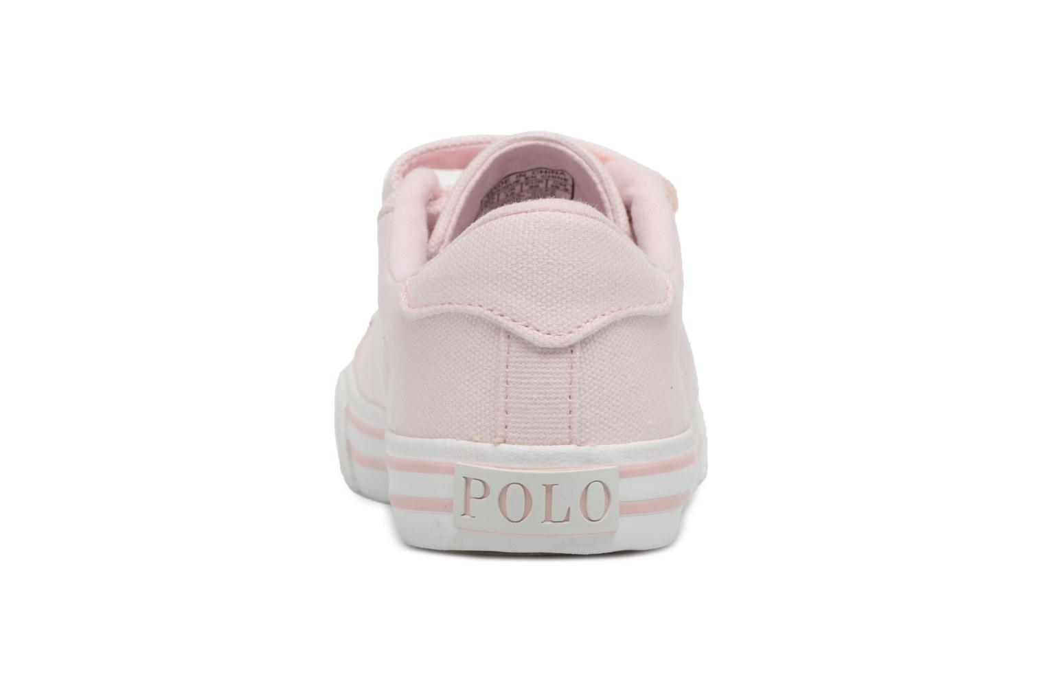 Trainers Polo Ralph Lauren Easten EZ Pink view from the right